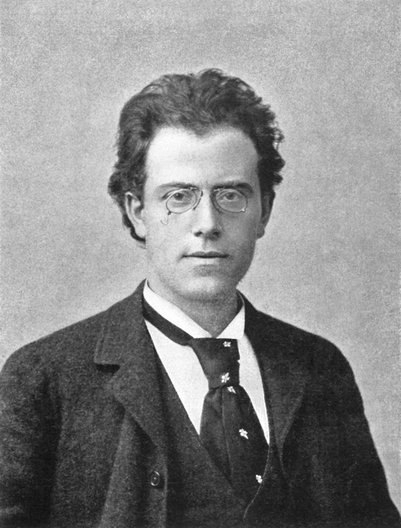 1860-1911 Freimaurer und Jude Gustav Mahler. Komponist und Dirigent
