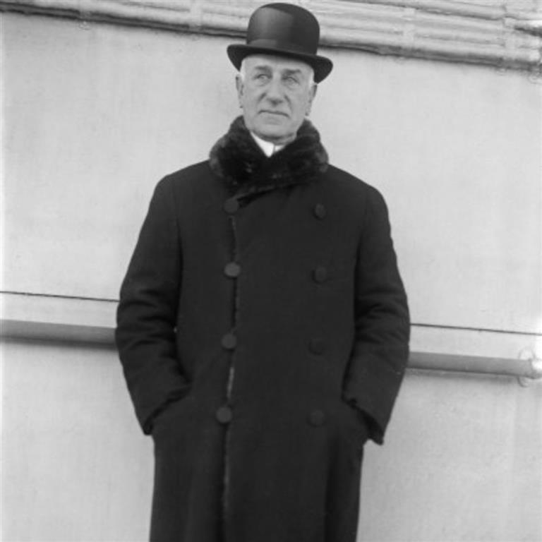 1861-1949 Jude Solomon R. Guggenheim. Amerikanischer Industrieller mit deutschen Wurzeln. Sammelte Kunstwerke und gründete das gleichnamige New Yorker Museum.