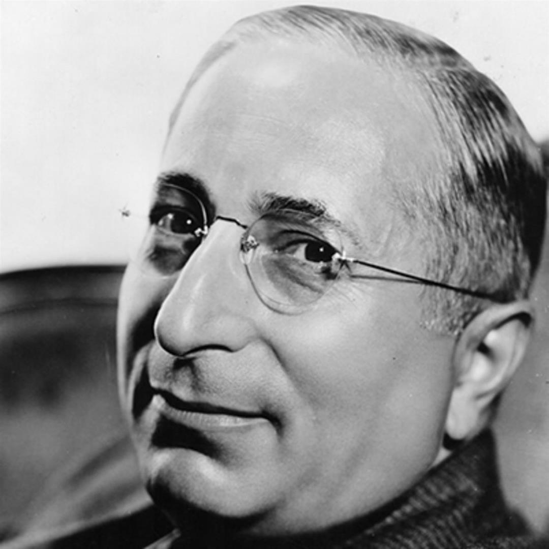 1870-1927 Jude Marcus Loew. Filmschaffender. Begründer von Metro-Goldwyn-Mayer, MGM.