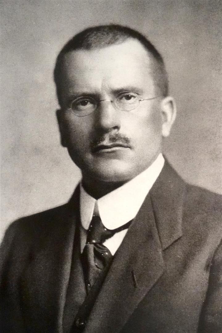 1875-1961 Jude Carl Gustav Jung. Psychiater und Kabbalist.