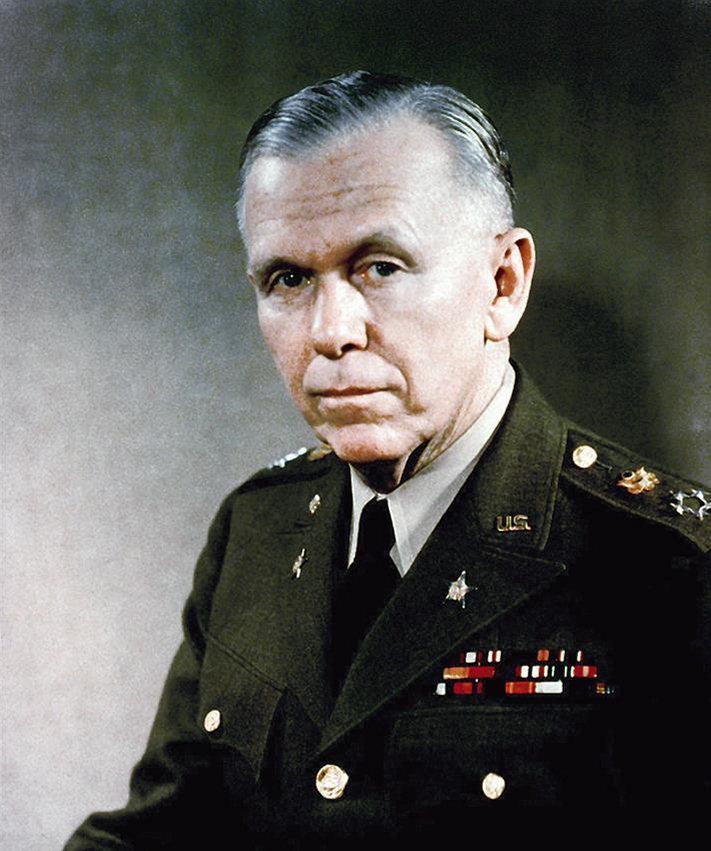 """1880-1959 Freimaurer George Marshall. Amerikanischer General und Friedensnobelpreisträger. Freimaurerloge 1941 Washington """"at sight""""."""