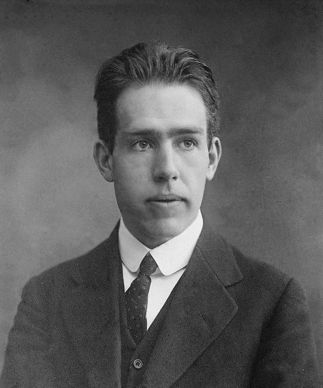 1885-1962 Jude Niels Bohr. Dänischer Physiker und Chemiker. Nobelpreis für die Erforschung der Struktur der Atome