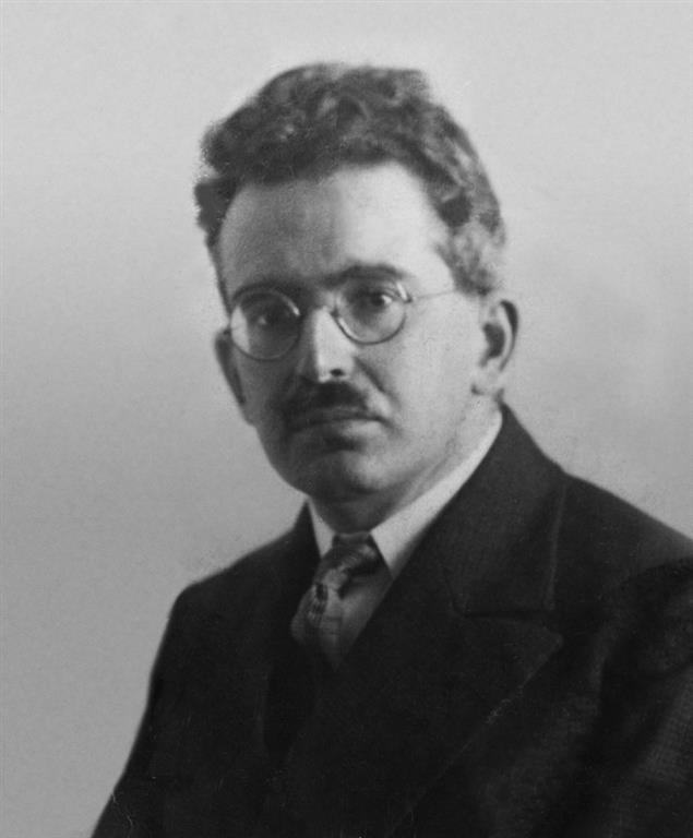 1892-1940 Jude Walter Benjamin. Deutscher Philosoph.