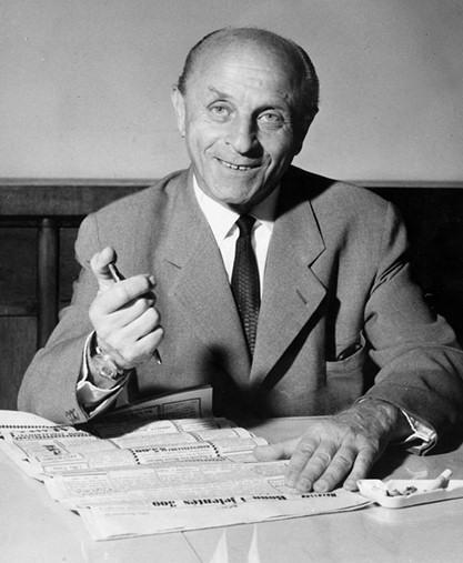 1899-1985 Jude László József Bíró. Ungarischer Unternehmer. Angeblicher Erfinder des Kugelschreibers. In einigen Ländern ist der Kugelschreiber nach ihm benannt.