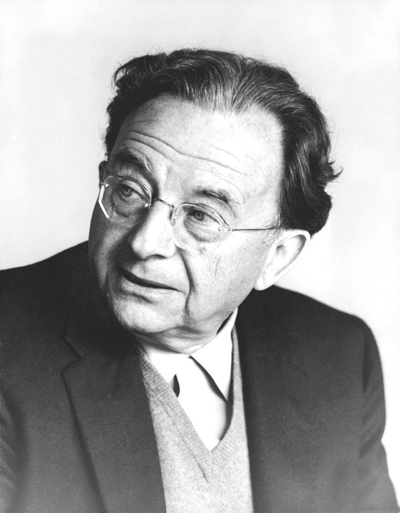 1900-1980 Jude Erich Fromm. Philosoph, Psychoanalytiker und Kommunist
