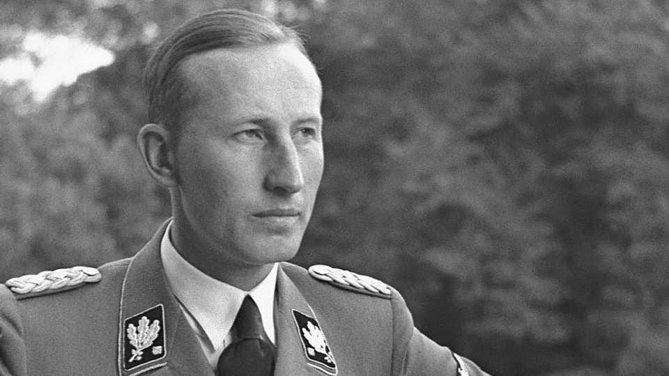 1904-1942 Jude Reinhard Heydrich. SS-Obergruppenführer und General der Polizei. Sein Vater hieß Isidor Süß (Tarnname Bruno Heydrich)