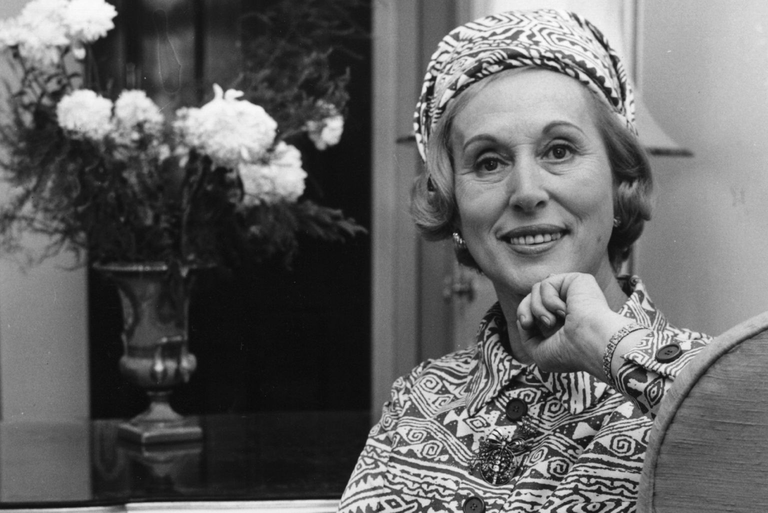 1906-2004 Jüdin Estée Lauder. Amerikanische Kosmetik-Unternehmerin.