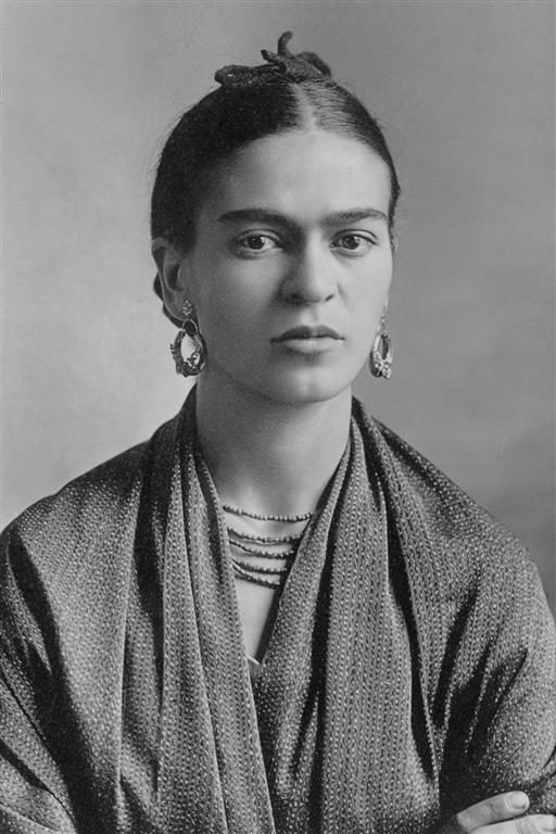 1907-1954 Jüdin Frida Kahlo. Mexikanische Malerin. Ihr Vater stammte aus Pforzheim