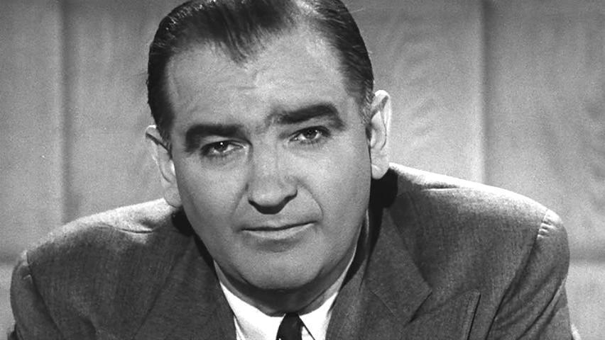 1908-1957 Jesuit Joseph McCarthy. Amerikanischer Politiker.