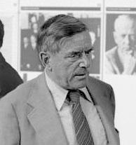 1909-1994 Jude Golo Mann. Schriftsteller. Sohn von Thomas Mann