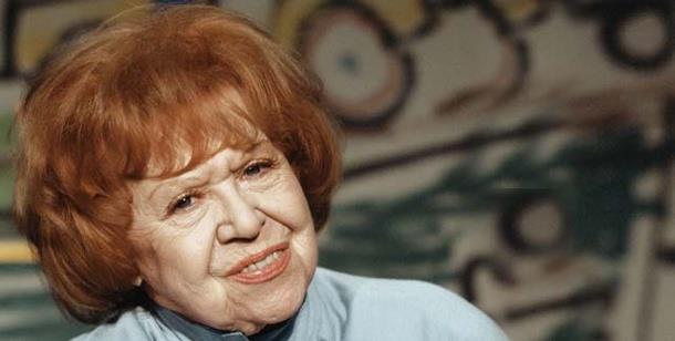 1910-2005 Jüdin Brigitte Mira. Deutsche Schauspielerin. Angst essen Seele auf, Derrick und Die drei Damen vom Grill