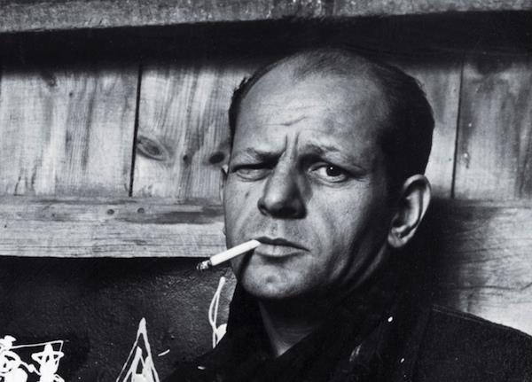 1912-1956 Jude Jackson Pollock. Maler. Bei seinen Bildern drängt sich, wie bei vielen modernen Bildern, unweigerlich die Frage auf 'Ist das Kunst oder kann das weg'. Sein Gemälde No. 5, 1948 war einst das teuerste Bild der Welt