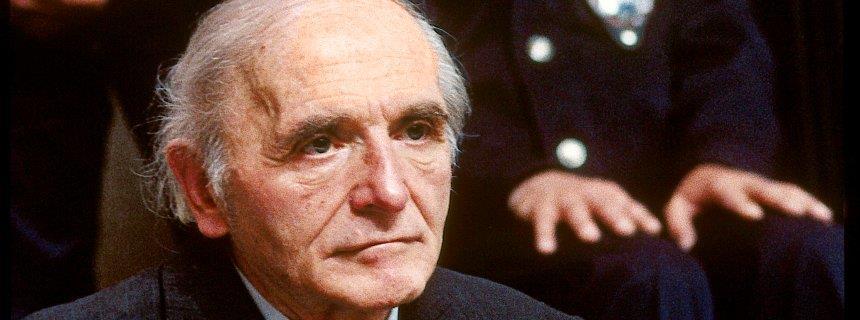 1913-1991 Jesuit Klaus Barbie. SS-Mitglied und Nazi-Agent