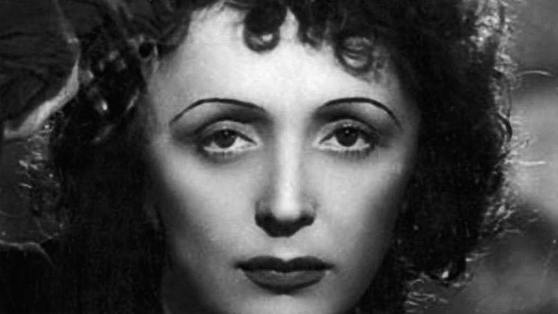 1915-1963 Freimaurerin (Rosenkreuzerin) Édith Piaf. Sängerin.