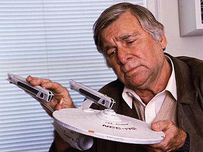 1921-1991 Freimaurer (Rosenkreuzer) Gene Roddenberry. US-Filmschaffender (Star Trek).