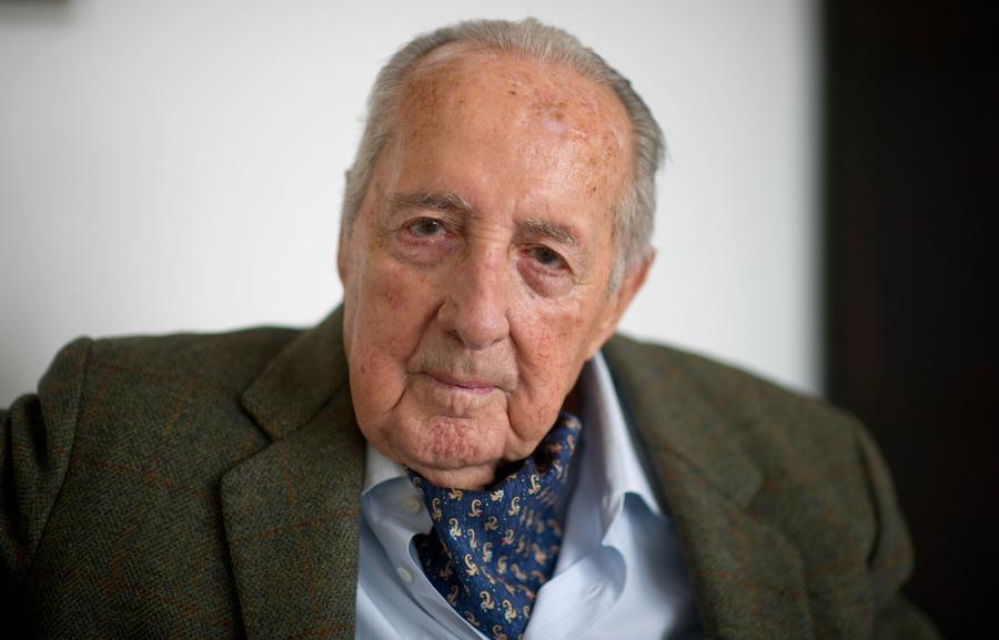 1924-2014 Jesuit und Jude Peter Scholl-Latour. Journalist, Weltreisender und Diktatorenfreund