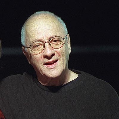 1926-2009 Jude Peter Zadek. Deutscher Theaterregiesseur und Intendant