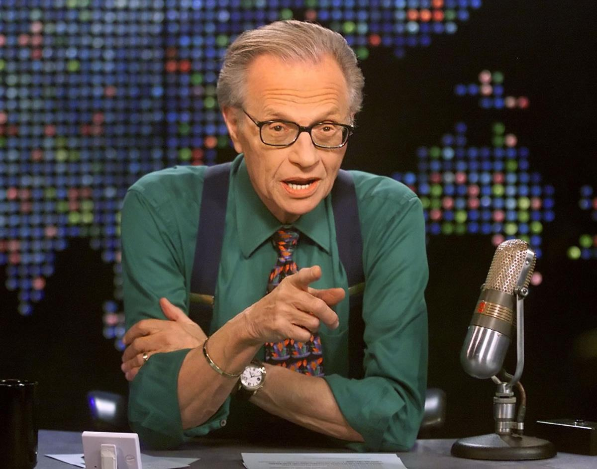 1933 Jude Lawrence Harvey Zeiger (Tarnname Larry King). Talkshow-Moderator.