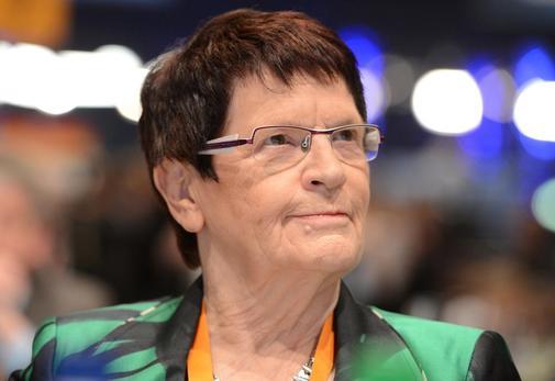 1937 Jüdin Rita Süssmuth. Politikerin, Gesundheitsministerin und 10 Jahre Bundestagspräsidentin. Ist in der Deutsche Stiftung Weltbevölkerung tätig (Bevölkerungsdezimierung).