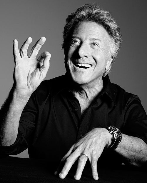 1937 Jude Dustin Hoffman. Schauspieler. Tootsie, Rain Man, Hook, Wag the Dog, Das Parfüm.