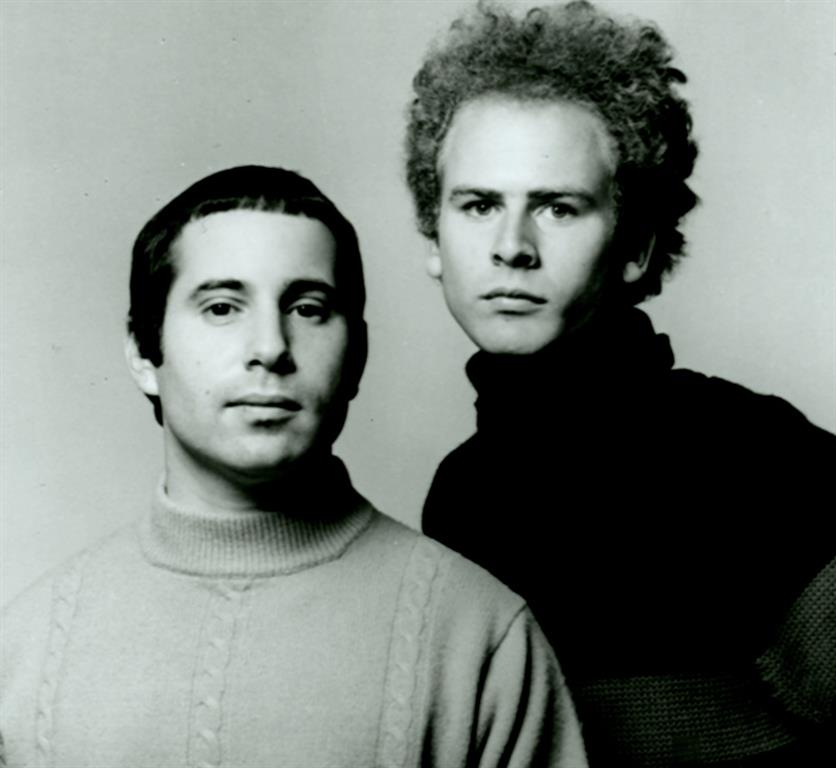 1941 Juden Paul Simon und Art Garfunkel. Amerikanische Folk-Musiker. Sound of Silence, Scarborough Fair, Homeward Bound, Mrs. Robinson, The Boxer, Bridge over Troubled Water.