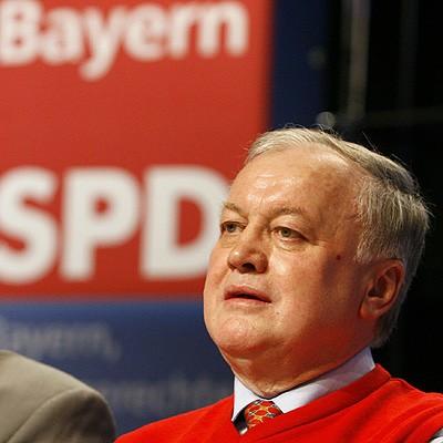 1944 Jesuit Ludwig Stiegler. Bayrischer SPD-Politiker.