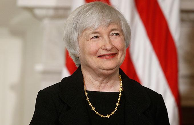 1946 Jüdin Janet Yellen. Präsidentin der US-Notenbank FED.