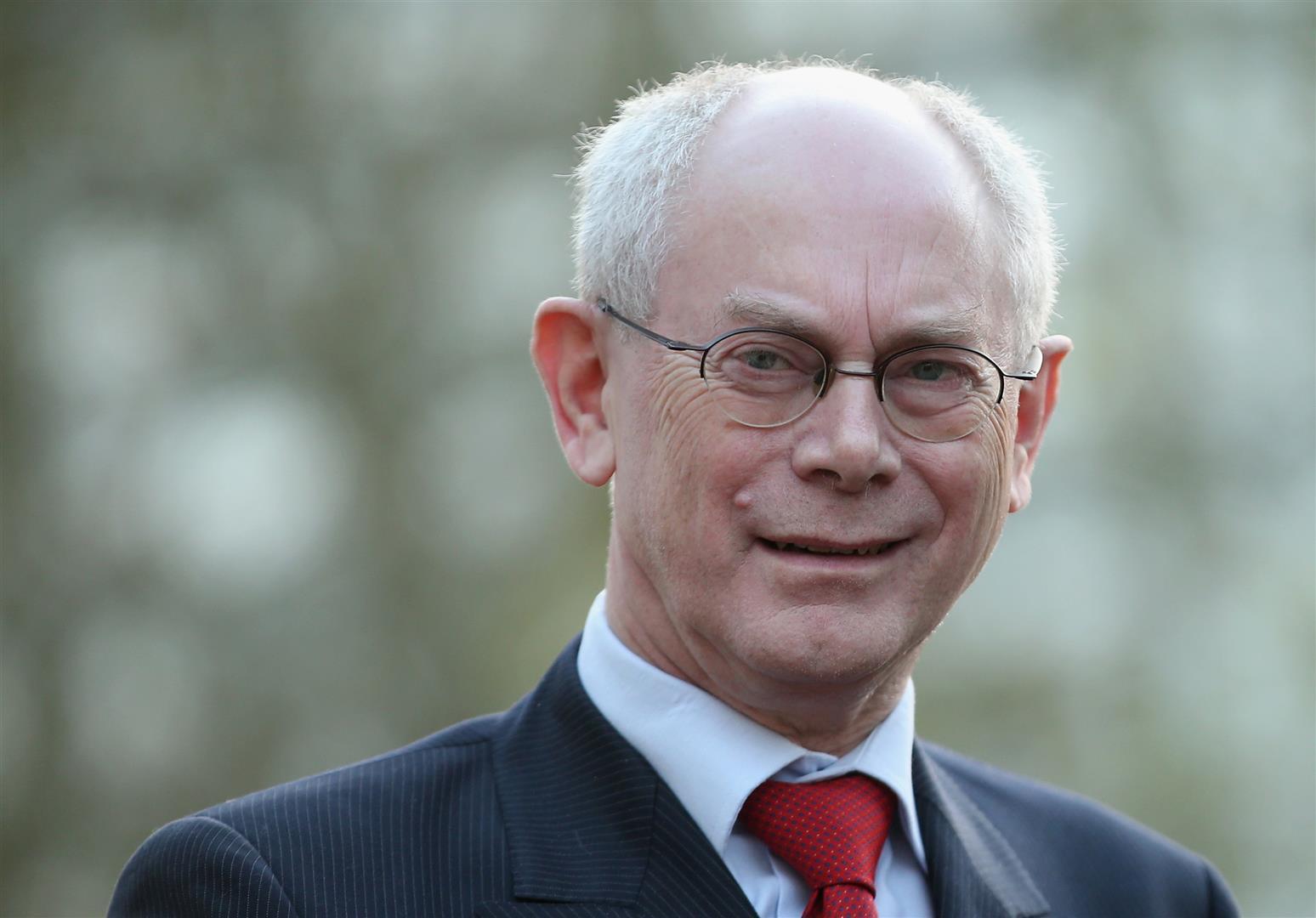 1947 Jesuit Herman Van Rompuy. EU-Ratsprädident und belgischer Premierminister.