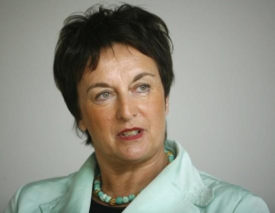 1953 Jüdin Brigitte Zypries. Deutsche Justizministerin und Staatssekretärin.