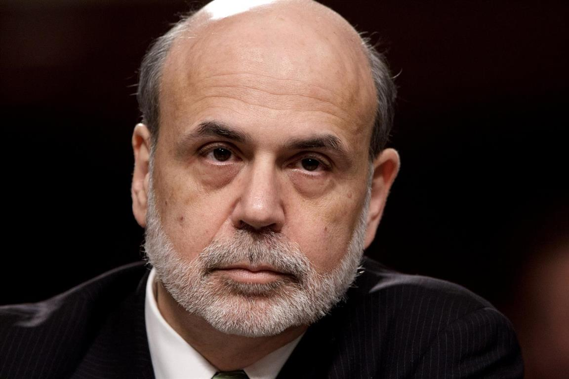 1953 Jude Ben Bernanke. US-Notenbank Federal Reserve