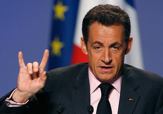 1955 Jude Nicolas Sarkozy. Französischer Staatspräsident und Vorsitzender des EU-Rates