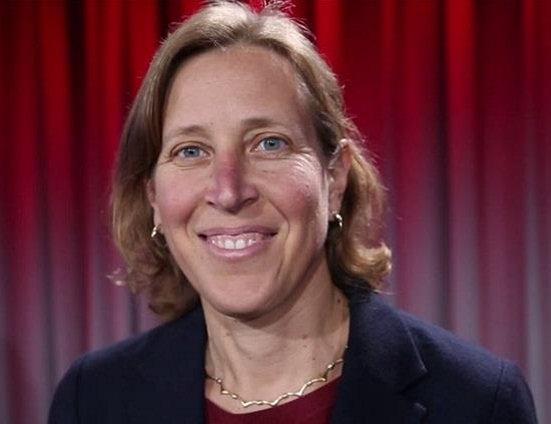 1968 Jüdin Susan Wojcicki. Chefin von Youtube