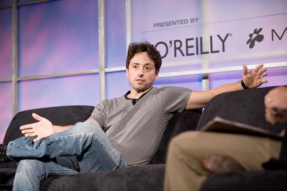 1973 Jude Sergey Brin. Gründer von Google