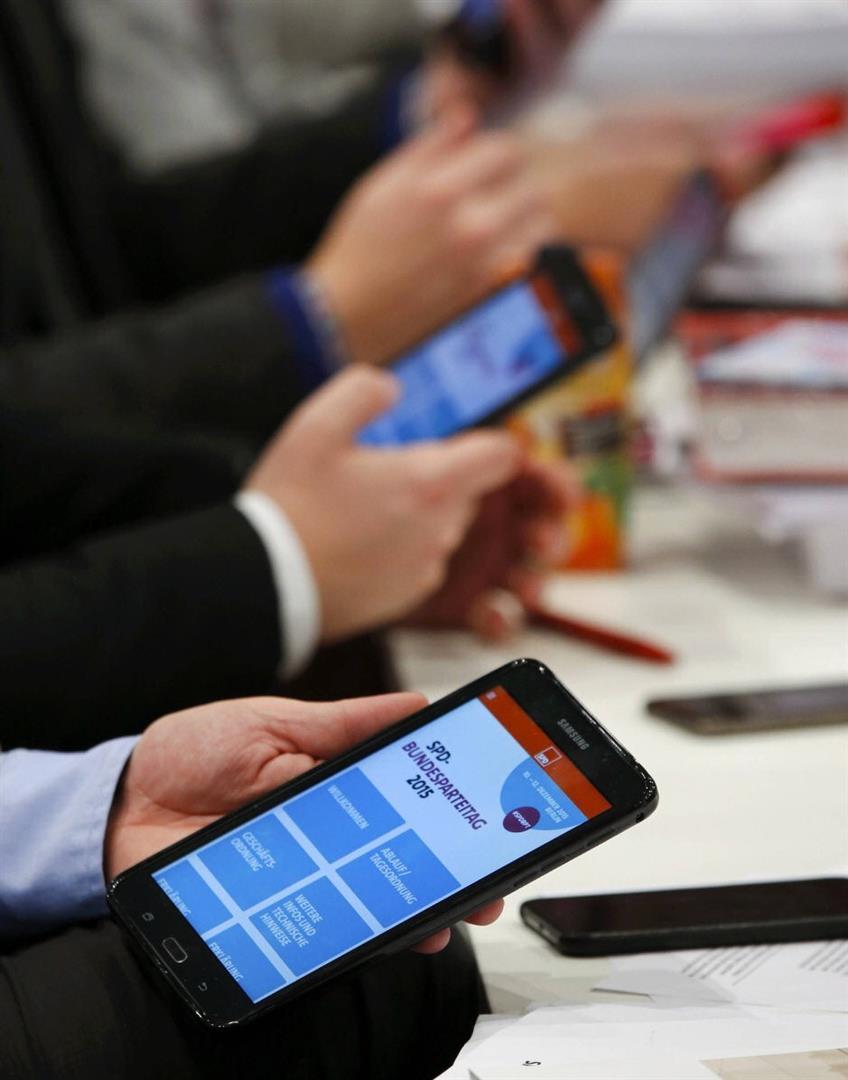 Die SPD-Spitze will Wahlfälschung mittels Tablet-Computer hoffähig machen.