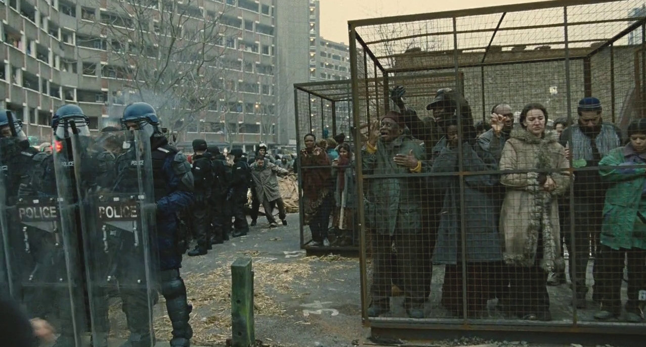 Einwanderer in dem Film Children of Men