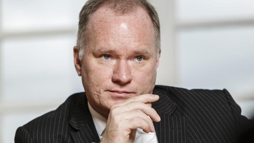 Hamburger Innensenator Michael Neumann SPD. Wurde zweimal vom Malteserorden ausgezeichnet.