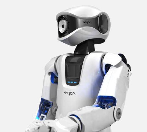 Ein deutscher Roboter namens Myon