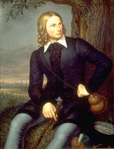 Hoffmann von Fallersleben (Schumacher, 1819)