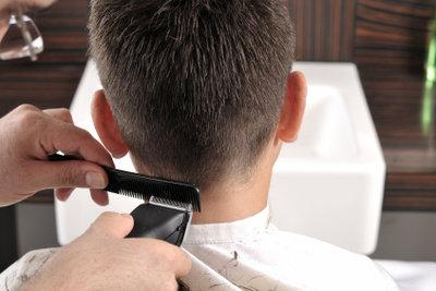 Haare rasieren