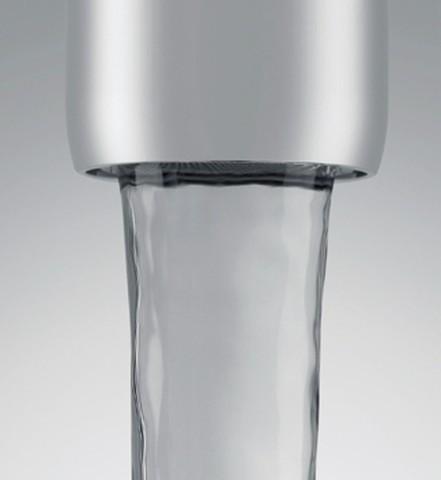 Offener Wasserhahn