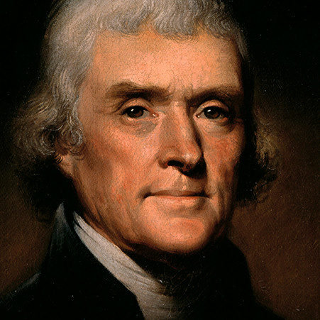 1743-1826 Thomas Jefferson