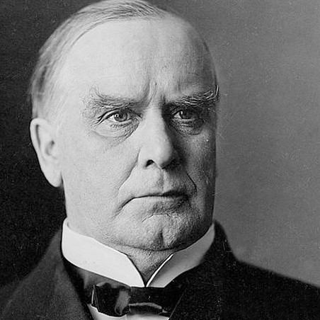 1843-1901 William McKinley