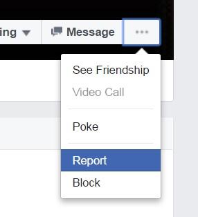Menschen denunzieren auf facebook